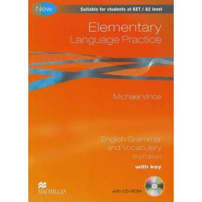 Language Practice Elementary Student's Book - Michael Vince