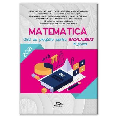 Bacalaureat 2021- Matematica - Ghid de pregatire M_stiintele-naturii - Ed. Delfin