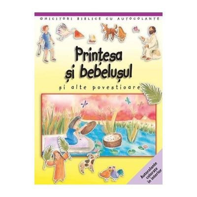 Printesa si bebelusul si alte povestioare. Ghicitori biblice cu autocolante - Sally Ann Wright, Paola Bertolini Grudina