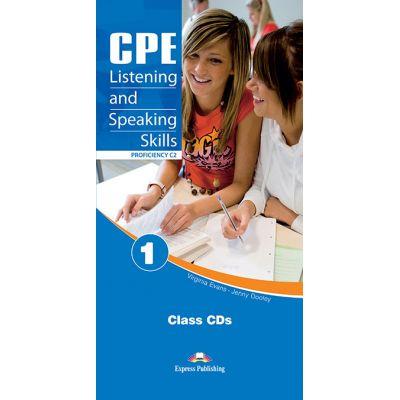 Teste limba engleza CPE Listening and Speaking 1 Audio CD set 6 CD - Virginia Evans, Jenny Dooley