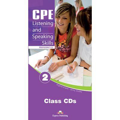 Teste limba engleza CPE Listening and Speaking 2 Audio CD - Virginia Evans, Jenny Dooley