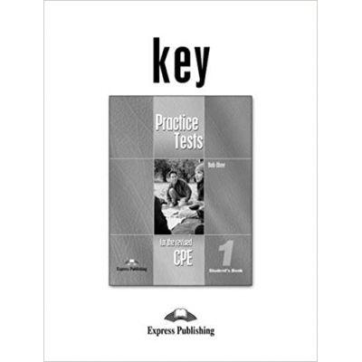 Teste limba engleza CPE Practice Tests 1 Key - Bob Obee