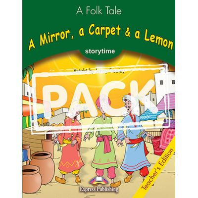 A mirror, a carpet and a lemon. Retold. Manualul profesorului - Jenny Dooley