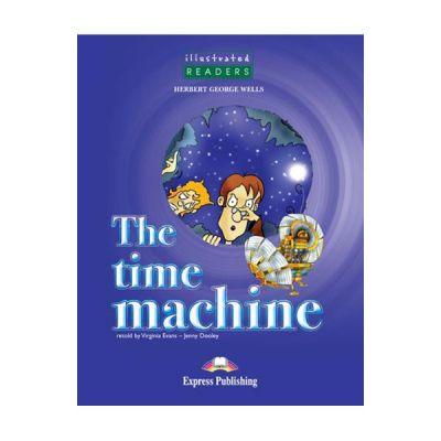 Benzi desenate The time machine audio CD - Jenny Dooley