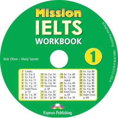 Curs limba engleza Mission IELTS 1 Academic Audio CD la caiet - Mary Spratt, Bob Obee