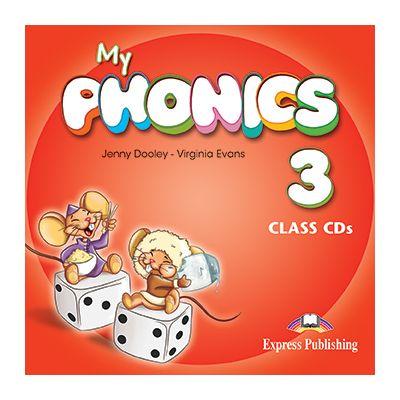 Curs Limba Engleza My Phonics 3 audio Set 2 CD - Jenny Dooley, Virginia Evans