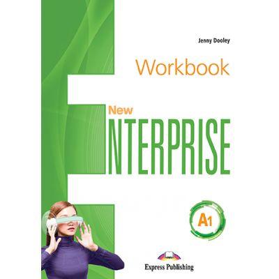 Curs limba Engleza New Enterprise A1 Caietul elevului cu Digibook App. - Jenny Dooley