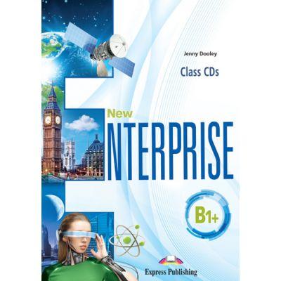 Curs limba engleza New Enterprise B1+ Audio Set 4 CD - Jenny Dooley