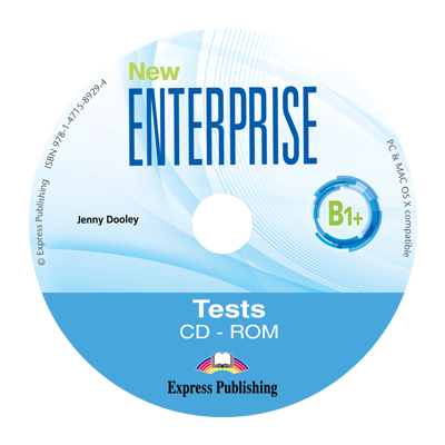 Curs limba engleza New Enterprise B1+ Teste CD - Jenny Dooley