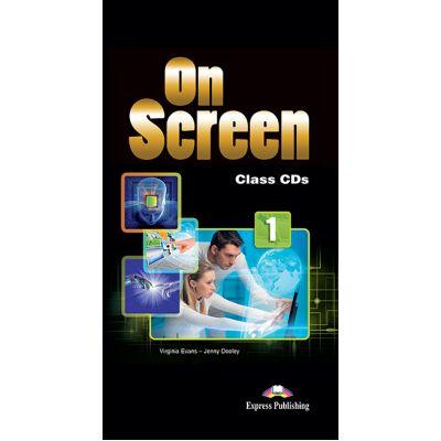 Curs limba engleza On Screen 1 Audio. Set 5 CD - Jenny Dooley, Virginia Evans