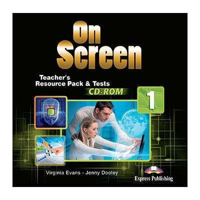 Curs limba engleza On Screen 1 Material aditional pentru Profesor si Teste CD - Jenny Dooley, Virginia Evans