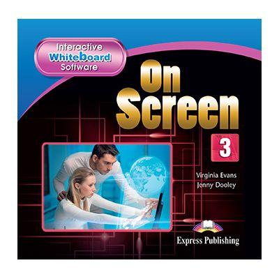 Curs limba engleza On Screen 3 Soft pentru tabla interactiva - Jenny Dooley, Virginia Evans