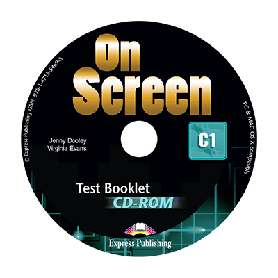 Curs limba engleza On Screen C1 Teste CD - Jenny Dooley
