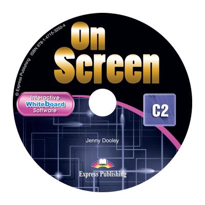 Curs limba engleza On Screen C2 Soft pentru tabla interactiva - Jenny Dooley