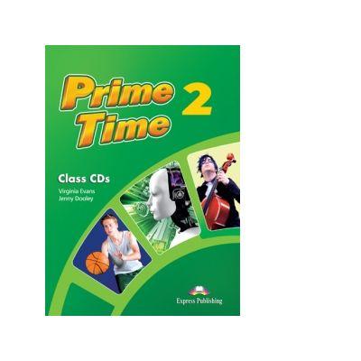 Curs limba engleza Prime Time 2 Audio Set 4 CD - Virginia Evans, Jenny Dooley