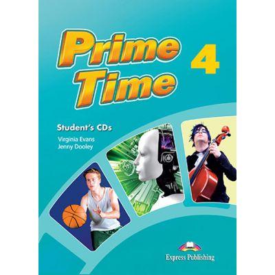Curs limba engleza Prime Time 4 Audio Set 4 CD - Virginia Evans, Jenny Dooley
