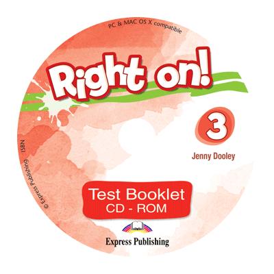 Curs limba engleza Right On 3 Teste CD - Jenny Dooley