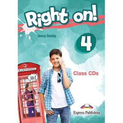 Curs limba engleza Right On 4 Audio Set 3 CD - Jenny Dooley