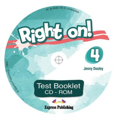 Curs limba engleza Right On 4 Teste CD - Jenny Dooley