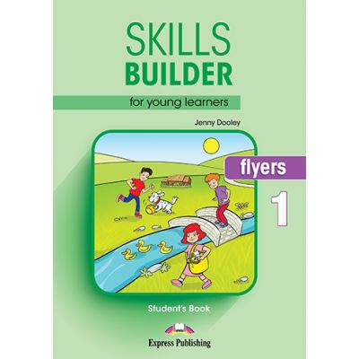 Curs limba engleza Skills Builder Flyers 1 Manual - Jenny Dooley