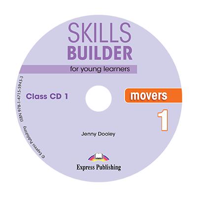 Curs limba engleza Skills Builder Movers 1 Audio Set 2 CD - Jenny Dooley