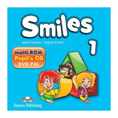 Curs Limba Engleza Smiles 1 Multi-Rom - Jenny Dooley, Virginia Evans