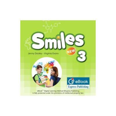 Curs Limba Engleza Smiles 3 ieBook - Jenny Dooley, Virginia Evans