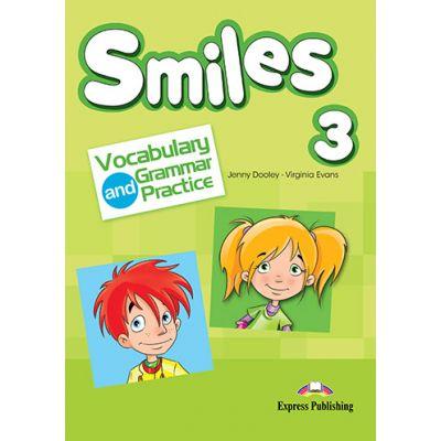 Curs limba engleza Smiles 3 Vocabular si Gramatica - Jenny Dooley, Virginia Evans