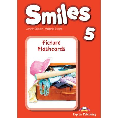 Curs limba engleza Smiles 5 Picture Flashcards - Jenny Dooley, Virginia Evans
