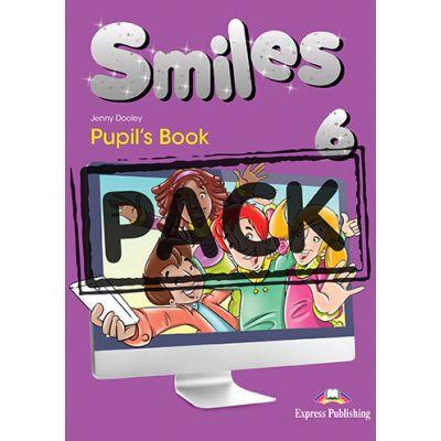 Curs limba engleza Smiles 6 Manual cu iebook - Jenny Dooley, Virginia Evans