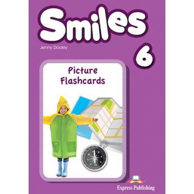 Curs limba engleza Smiles 6 Picture Flashcards - Jenny Dooley, Virginia Evans