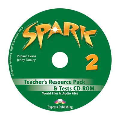 Curs limba engleza Spark 2 Monstertrackers Material aditional pentru profesor si teste CD - Virginia Evans, Jenny Dooley
