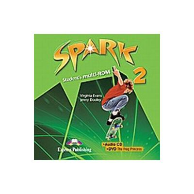 Curs limba engleza Spark 2 Monstertrackers Multi-ROM - Virginia Evans, Jenny Dooley