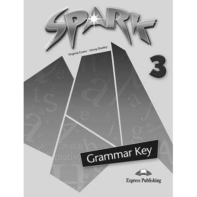 Curs limba engleza Spark 3 Monstertrackers Cheie la gramatica - Virginia Evans, Jenny Dooley