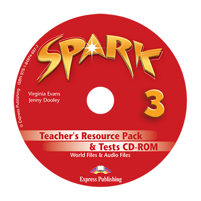 Curs limba engleza Spark 3 Monstertrackers Material aditional pentru profesor si teste CD - Virginia Evans, Jenny Dooley