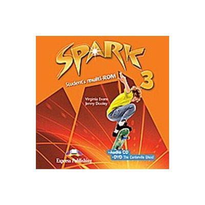 Curs limba engleza Spark 3 Monstertrackers Multi-ROM - Virginia Evans, Jenny Dooley