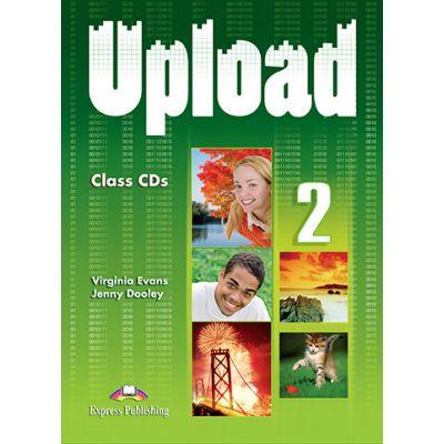 Curs limba engleza Upload 2 Audio Set 3 CD - Virginia Evans, Jenny Dooley