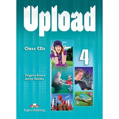 Curs limba engleza Upload 4 Audio Set 3 CD - Virginia Evans, Jenny Dooley