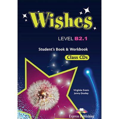 Curs Limba Engleza WISHES B2. 1 Audio Set 9 CD - Virginia Evans, Jenny Dooley
