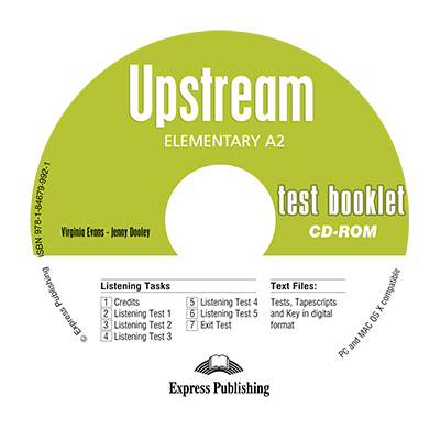 Curs Limba. Engleza Upstream Elementary CD Teste - Virginia Evans, Jenny Dooley