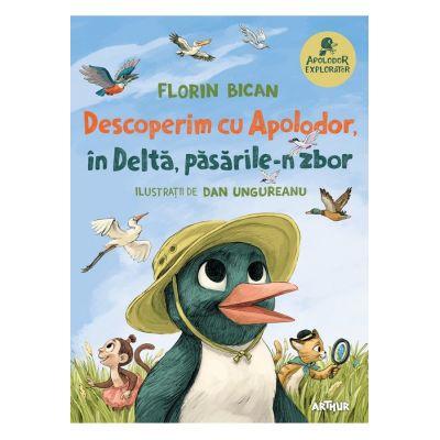 Descoperim cu Apolodor, in Delta, pasarile-n zbor - Florin Bican