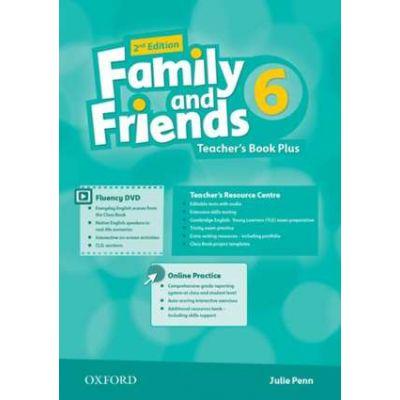 Family and Friends. Level 6. Teacher's Book Plus - Julie Penn