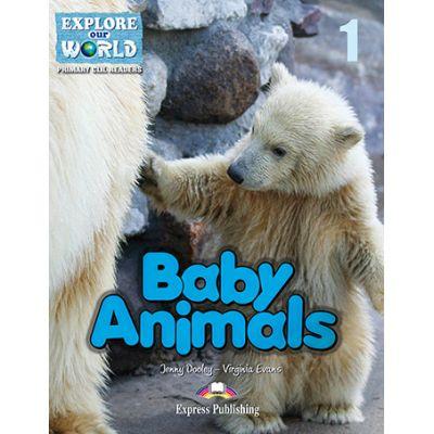 Literatura CLIL Baby Animals Reader cu Cross-platform App. - Jenny Dooley, Virginia Evans