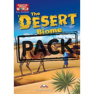 Literatura CLIL The Desert Biome cu Digibook App - Jenny Dooley