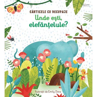Unde esti, elefantelule? (Usborne) - Usborne Books