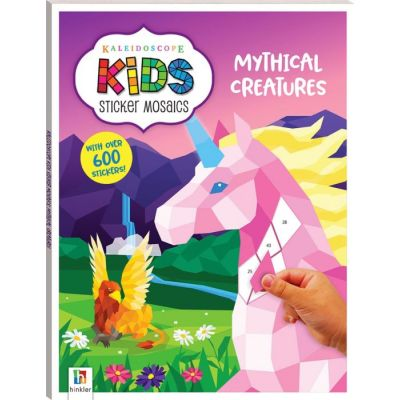 Kaleidoscope Kids Sticker Mosaics. Mythical Creatures
