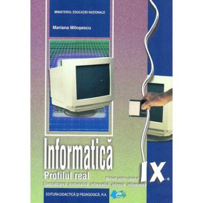 Manual informatica, clasa a IX-a Real Intensiv C++ - Mariana Milosescu