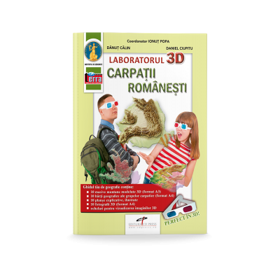 Atlas 3D. Carpatii Romanesti - Ionut Popa
