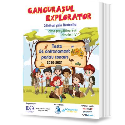 Cangurasul explorator 2020-2021. Revista de antrenament pentru clasa pregatitoare si clasele I-IV