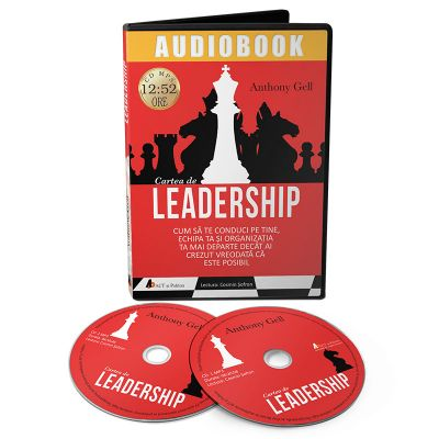 Cartea de leadership. Audiobook - Anthony Gell